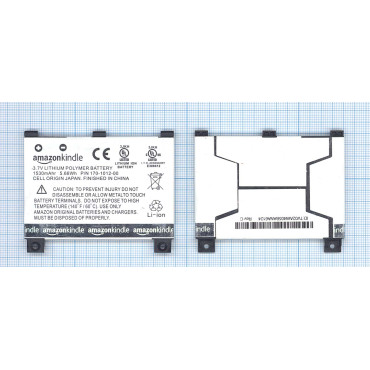 170-1012-00 Amazon Kindle 2 3G, Kindle DX 1530mAh